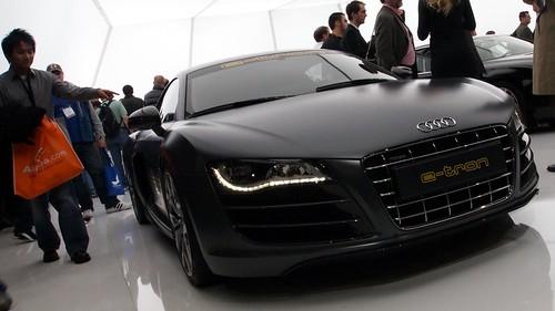 Matte Black Audi R8 (CES 2011)
