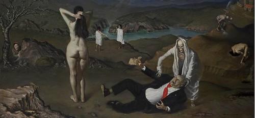 Η παραίσθηση του θανάτου και του φωτός στη ζωγραφική του Ανδριανού, Αίθουσα τέχνης Έκφραση-Γιάννα Γραμματοπούλου, από 18 Ιανουαρίου έως 12 Φεβρουαρίου 2011