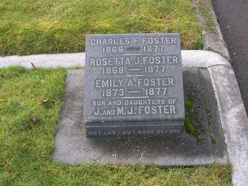 Charles, Rosetta, and Emily A. Foster