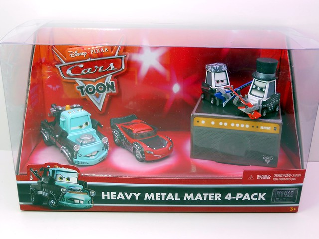 disney cars Heavy Metal Mater 4 pack (1)
