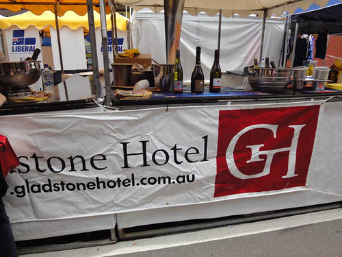 Dulwich Hill Street Fair: Wines from Gladstone Hotel