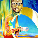 "Self portrait of myself as a self portrait <a style=""margin-left:10px; font-size:0.8em;"" href=""http://www.flickr.com/photos/30723037@N05/5242267143/"" target=""_blank"">@flickr</a>"