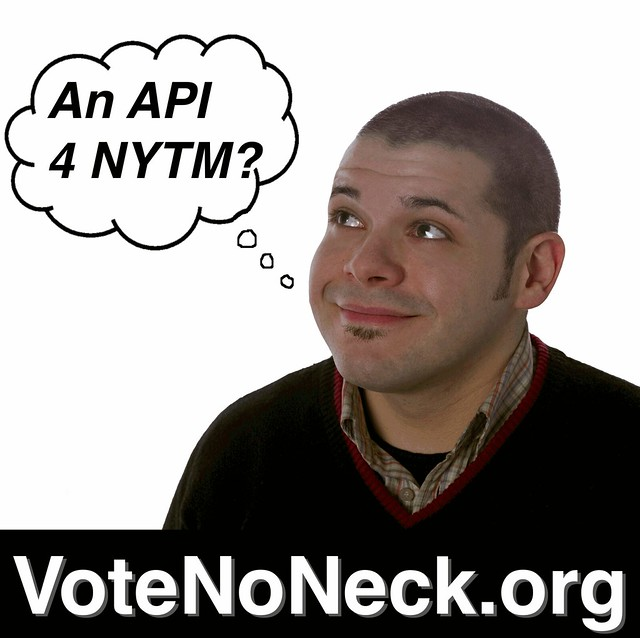 Vote Noneck for the NY Tech Meetup