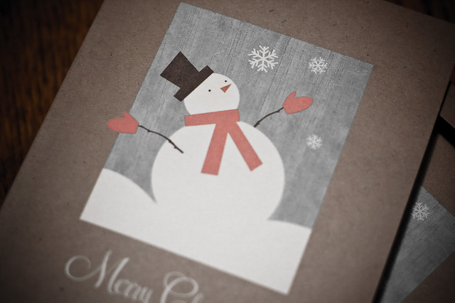Day 348 ~ Christmas card