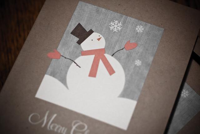 Day 348 ~ Christmas card