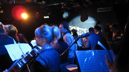MFMO on stage at Dingwalls