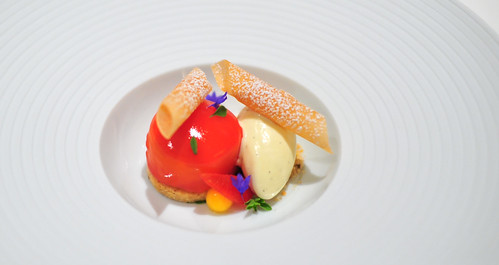 "Chef's 10th Course: ""Peaches and Cream"""