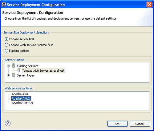 4 - service deployment config