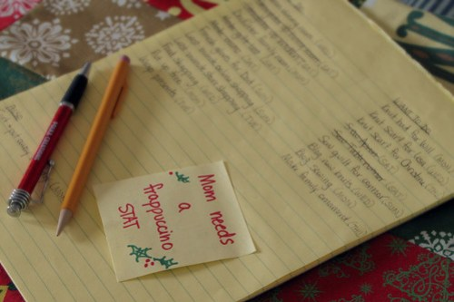 Holidays Day 19 - Making a list (checking it twice)