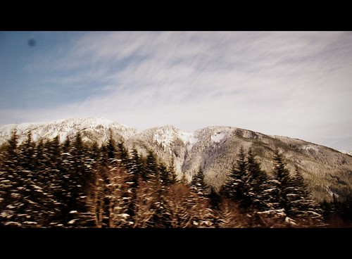 Highway towards Snoqualmie Pass, 2011
