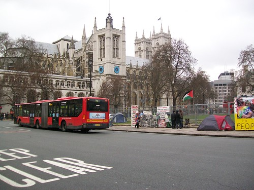 Bus Abbey & Protest