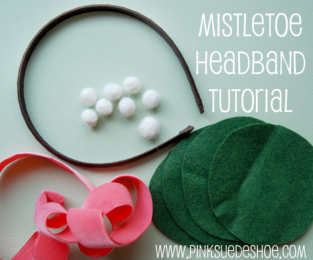 mistletoe headband 2