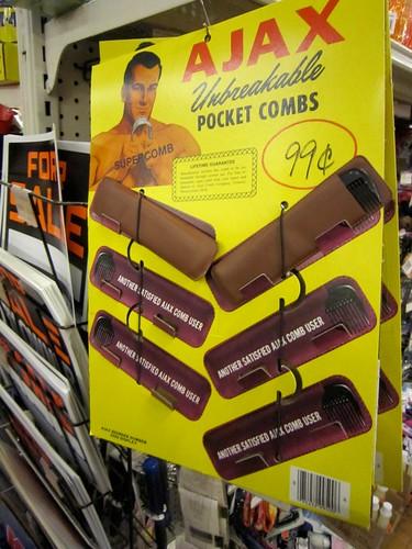 Ajax Unbreakable Pocket Combs
