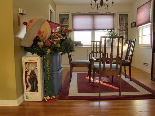Putting away Christmas