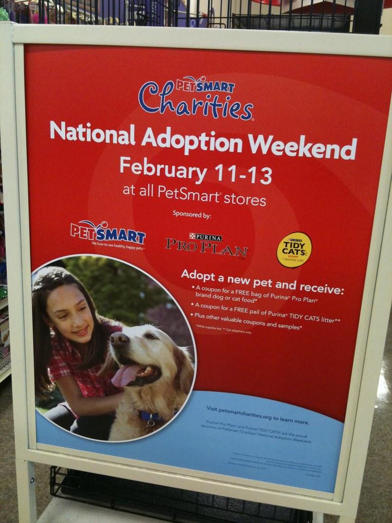 PetSmart's National Adoption Weekend