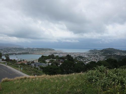Wellington, looking towards the Miramar Peninsula
