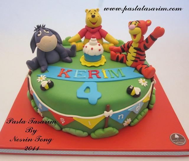 WINNIE THE POOH CAKE- KERIM BIRTHDAY