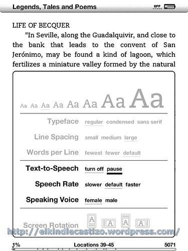 Text-to-Speech: Características