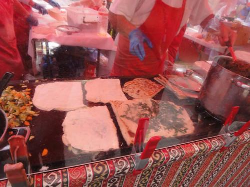 Dulwich Hill Street Fair: Gourmet Gozleme