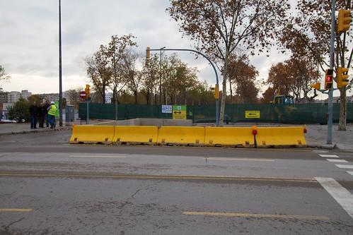 Corte en Ronda Sant Martí con Pont del Treball 01- 09-12-10