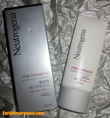 Neutrogena Fine Fairness Brightening UV Moisture with Helioplex and SPF50+ PA+++