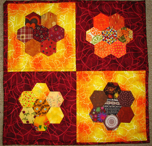 guinea baby's quilt