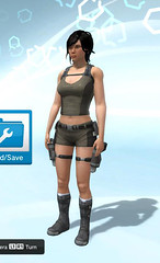 Underworld, Lara Croft-Outfit-