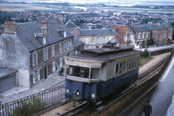Tramway à crémaillère de Laon en 1962