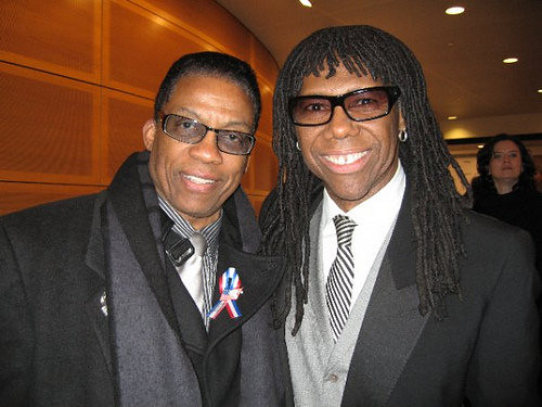 HERBIE HANCOCK & NILE RODGERS