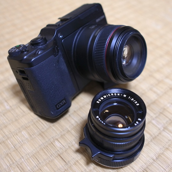 GXR and Leica Summicron