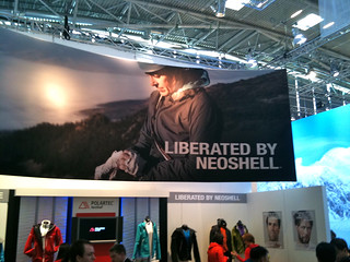 ispo 2011: Polartec Neoshell