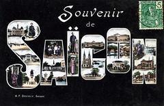souvenir de saïgon en 1908