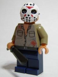 Jason Voorhees custom minifig | Custom LEGO Minifigures