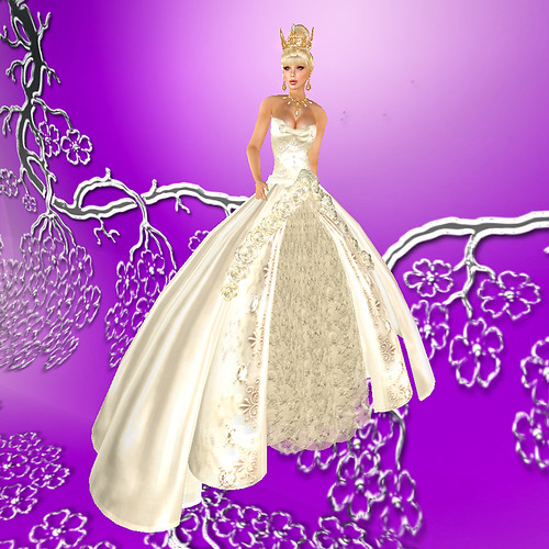 Winter Bridal Fantasy