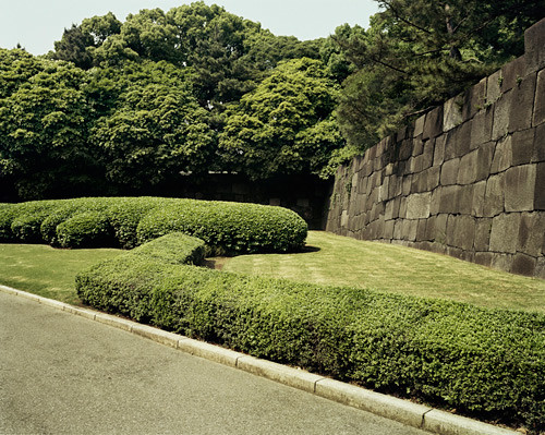 20x200 Imperial Palace Gardens With Wall Tokyo (Japan) by Emily Shur