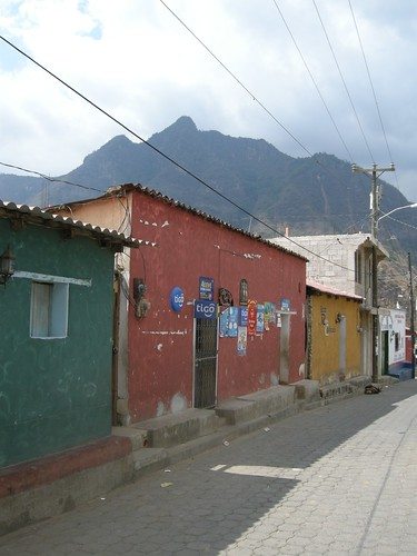 sleepy San Juan street