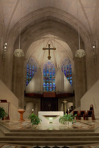 Blessed Sacrament renovated interior