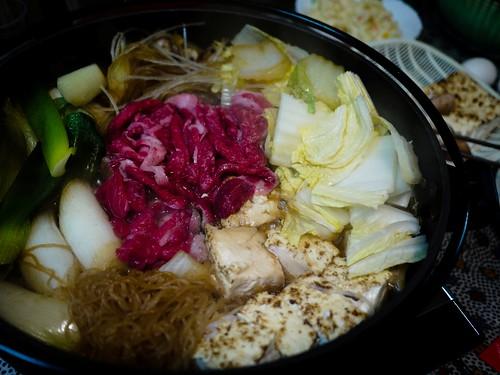 home cook sukiyaki
