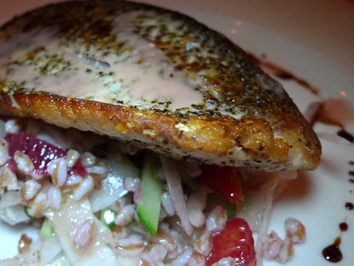 Pan-fried Whitefish at Osteria Firenze