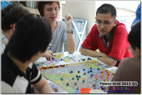 BGC Power Grid Msia 2011 @ Boardgame Depot