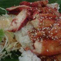 Chicken Peking vs Nasi bakar Huang Zou = not a battle
