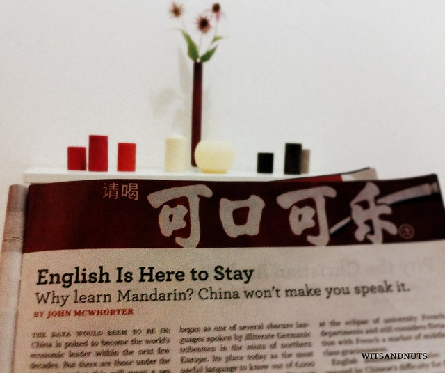 Why learn Mandarin? China won't make you speak it. -- Newsweek