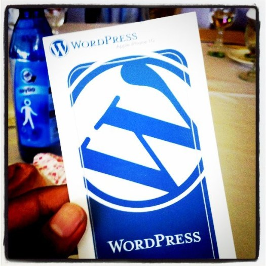 WordPress Sticker