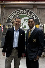 Ribbon Cutting Brooklyn Brewery