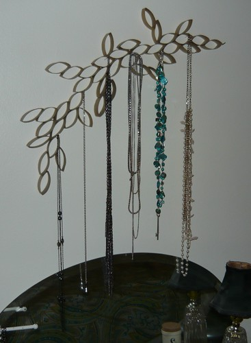 Jewelry Storage - long necklaces
