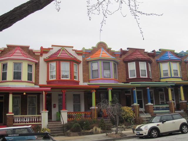 Balitmore Row Houses