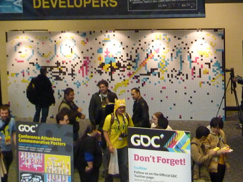 GDC 2011 Day 2 GDC Wall