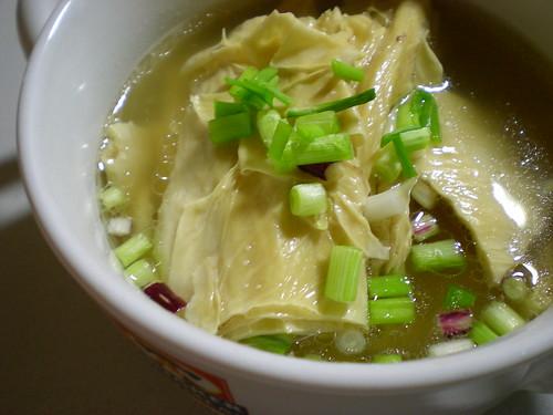 Bean curd stick soup 3