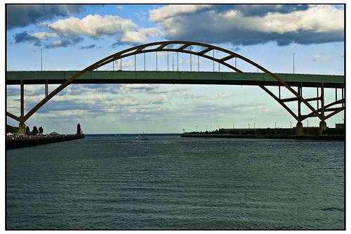 Hoan Bridge Milwaukee