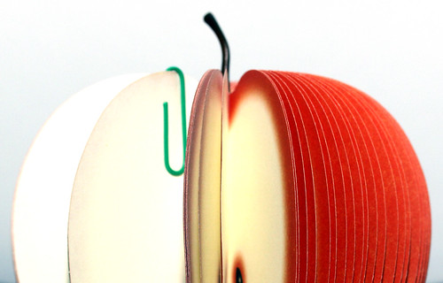 Half-Apple of StickyNotes